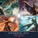 Press Release: D&D Elemental Evil Offerings from WotC