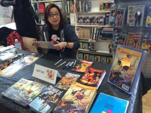 Amy Chu Signing