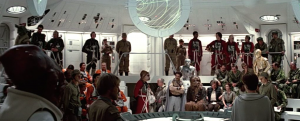Ackbar and his amazing technicolor squadrons