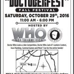 Things to Do: Doctoberfest at Who North America!