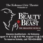 Media Monday: Kokomo Civic Theatre's Beauty and the Beast