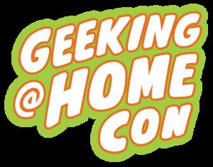 Geeking At Home Con Logo