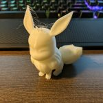A 3D Printed Eevee from Pokemon