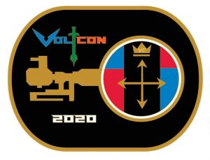 VoltCon 2020 Logo, designed like an original Votron key